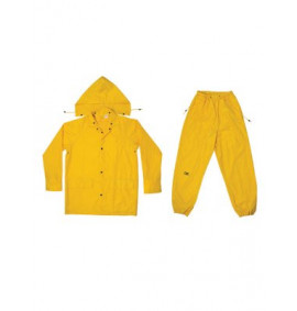 Kunys R102 3-Piece Yellow Polyester Suit
