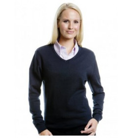 Kustom Kit Ladies Arundel V Neck Sweater