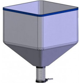 Loose Fill Hopper, 30 Cu.Ft Capacity -  FLOPACK-HOPPER