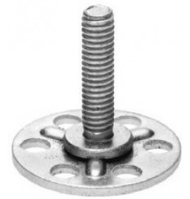 BigHead Mild Steel Male Threaded Studs M4 x 75