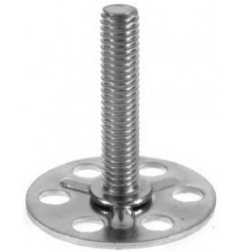 BigHead Mild Steel Male Threaded Studs M4 x 25