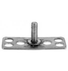 BigHead Mild Steel Male Threaded Studs M10 x 25