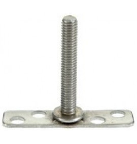 BigHead Mild Steel Male Threaded Studs M6 x 40