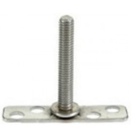 BigHead Mild Steel Male Threaded Studs M6 x 30