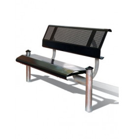 Mecure Steel Seat & Bench