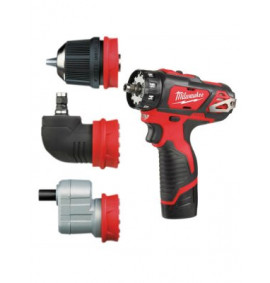 Milwaukee M12BDDXKIT-202C Removeable Chuck Drill Driver