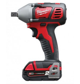 Milwaukee Compact 1/2in Impact Wrench 18 Volt 2 x 2.0Ah Li-Ion