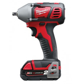 Milwaukee M18 BIW38-202C 3/8in Impact Wrench 18 Volt 2 x 2.0Ah Li-Ion