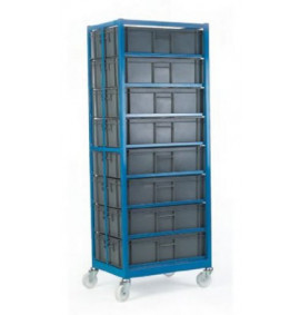 Mobile Container Racks - With Containers