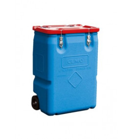 170 Litre Mobile box (hazardous materials approved)