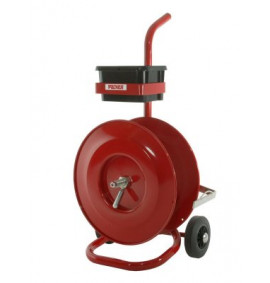 Mobile Dispenser With Tool & Seals Tray for PP Strapping on 200mm Core