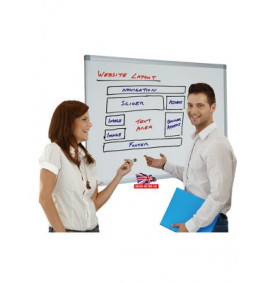 Non Magnetic Whiteboards - Standard - Melamine Surface
