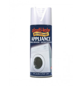 Plasti-kote Appliance Enamel Gloss White 400ml