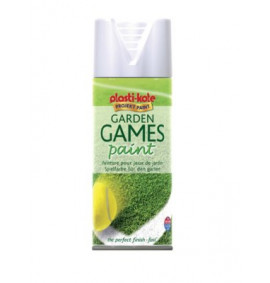 Plasti-kote Garden Games Spray Paint White 400ml