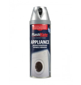 Plasti-kote Twist & Spray Appliance 400ml Satin Chrome