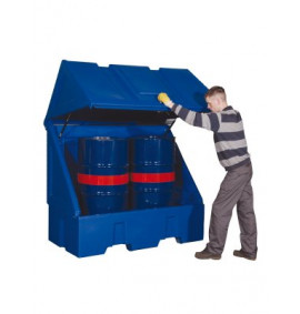 Polyethylene Drum Storage Vaults