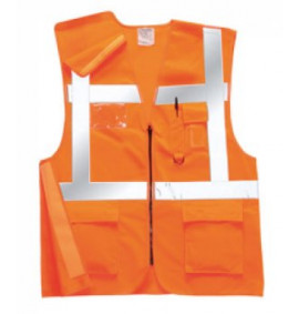 Portwest Executive Rail Vest GO/RT