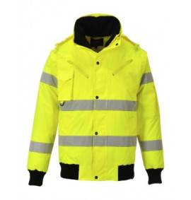 Portwest Hi-Vis 3-in-1 Bomber Jacket