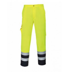 Portwest Hi-Vis Contrast Trousers