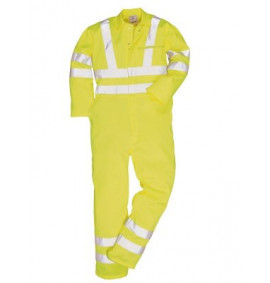 Portwest Hi-Vis Poly-cotton Coverall
