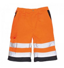 Portwest Hi-Vis Poly-cotton Shorts