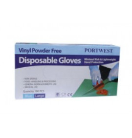 Portwest Powder Free Vinyl Disposable Glove