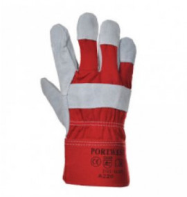 Portwest Premium Chrome Rigger (Red)