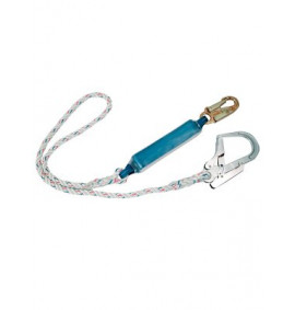 Portwest Single Lanyard With Shock Absorber