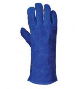 Portwest Welders Gauntlet (Blue)
