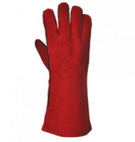 Portwest Welders Gauntlet (Red)