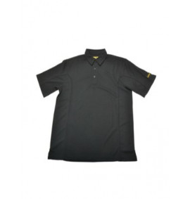 Roughneck Quick Dry Polo Shirt Black