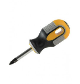 Roughneck Screwdriver Pozidriv PZ2 38mm Stubby