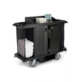 Rubbermaid Housekeeping Cupboard Trolley - RHT06Y
