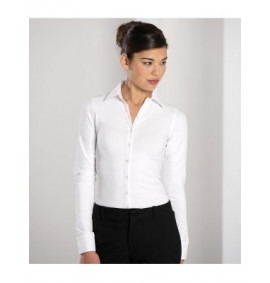Russell Collection Ladies Long Sleeve Stretch Top