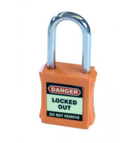 Safety Lockout Padlocks (Pack of 6)