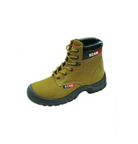 Scan Cougar Nubuck Safety Boots S1P