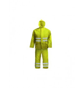 Scan Hi-Visibility Rain Suit Yellow
