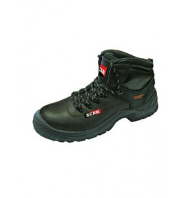 Scan Lynx Brown Safety Boots S1P