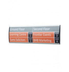 Showpoint 90mm Wall Sign System