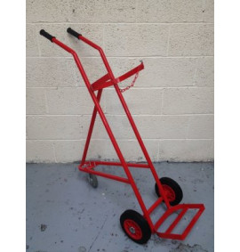 Single 3 Wheel Cylinder Trolley