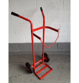 Single Cylinder Trolley - 1X Oxygen or Acetylene