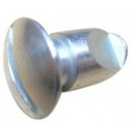 Quarter Turn Fastener Steel - Small Series Slotted Dome Head Studs