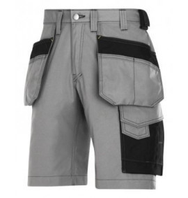Snickers 3023 Craftsmen Holster Pocket Shorts, Rip-Stop