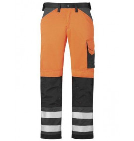 Snickers 3333 High-Vis Trousers, Class 2