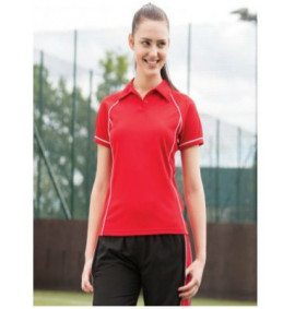 Sports and Activewear / Ladies Performance Tops - Contrast Polos