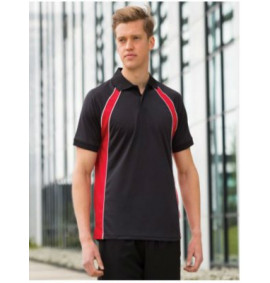 Sports and Activewear / Performance Tops - Contrast Polos
