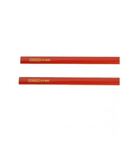 Stanley Carpenters Pencils for Wood Pack of 2