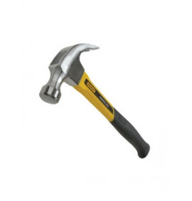 Stanley Curved Claw Hammer Fibreglass Shaft
