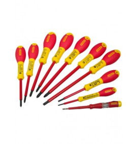 Stanley FatMax Screwdriver Set Insulated Par/Flared /Pozi Set of 10