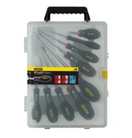 Stanley FatMax Screwdriver Set Parallel / Flared / Pozi Set of 9